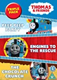 Thomas The Tank Engine - Enigines To The Rescue/Peep Peep Party/Chocolate Crunch