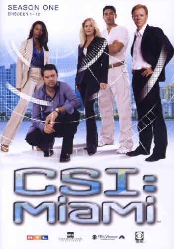 CSI: Miami Season  1.1 (3 DVDs)