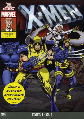 Marvel Cartoons: X-Men - Staffel 1, Teil 1