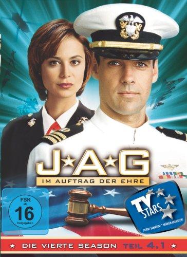 JAG Im Auftrag der Ehre - Season  4.1 (3 DVDs)