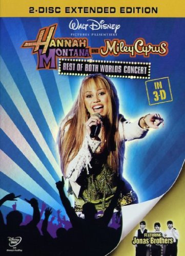 Hannah Montana & Miley Cyrus - Best Of/3D (2 DVDs)