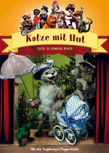 Augsburger Puppenkiste Katze mit Hut