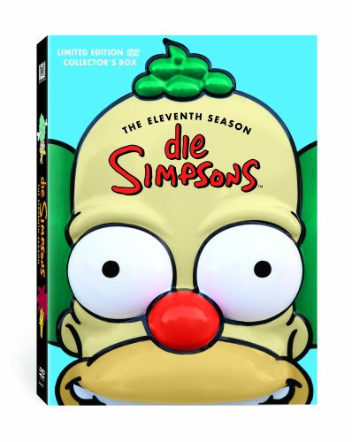 Die Simpsons Season 11 (Kopf-Tiefzieh-Box, Collector's Edition, 4 DVDs)