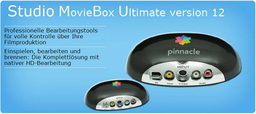 Pinnacle Studio MovieBox Ultimate 710 USB: Amazon.de