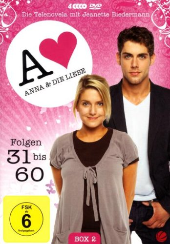 Anna und die Liebe Box  2, Folgen 31-60 (4 DVDs)