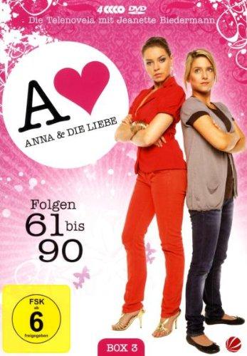 Anna und die Liebe Box  3, Folgen 61-90 (4 DVDs)