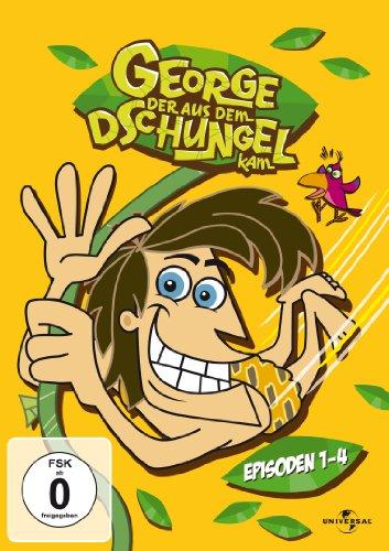 George - Der aus dem Dschungel kam Vol. 1 - Ep. 01-04