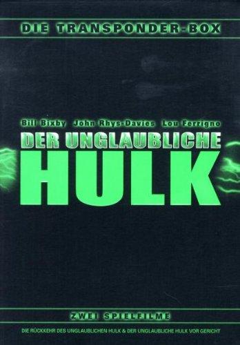 Der unglaubliche Hulk Die Transponder-Box (2 DVDs)