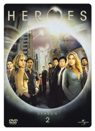 Heroes Staffel 2 (4 DVDs, Steelbook)