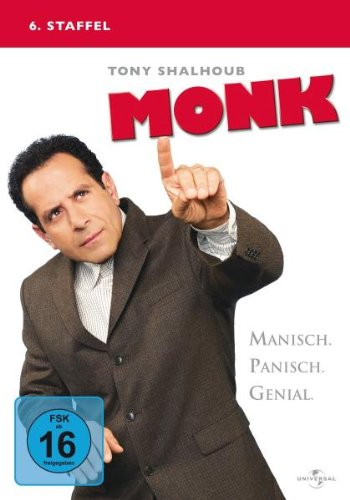 Monk Staffel 6 (4 DVDs)