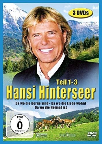 Hansi Hinterseer: Da wo die Berge sind, Teil 1-3 (3 DVDs)