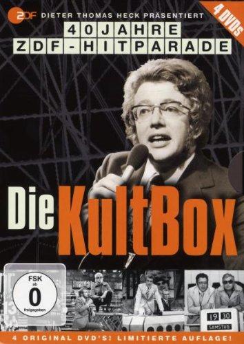 Die Kultbox - 40 Jahre ZDF-Hitparade (4 DVDs)