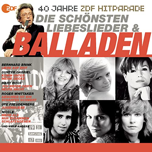 Das Beste aus 40 Jahren Hitparade: Die Balladen.