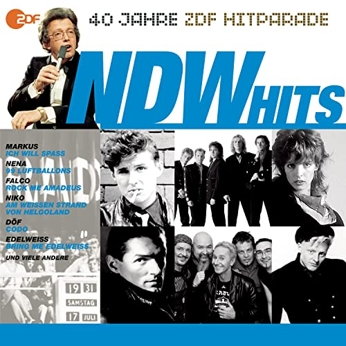 Das Beste aus 40 Jahren Hitparade: Die NDW-Hits.