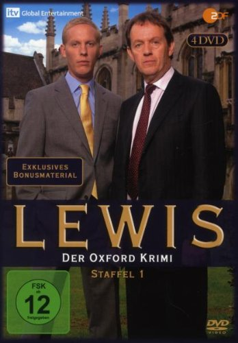 Lewis - Der Oxford Krimi Staffel 1 (4 DVDs)