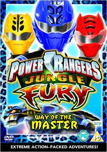 Power Rangers - Jungle Fury