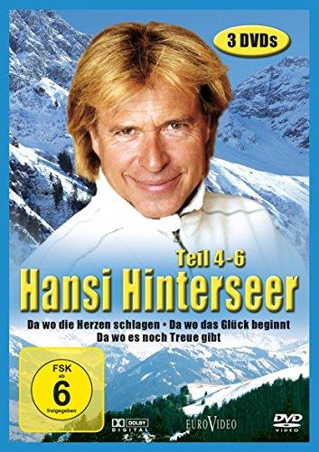 Hansi Hinterseer: Da wo die Berge sind, Teil 4-6 (3 DVDs)
