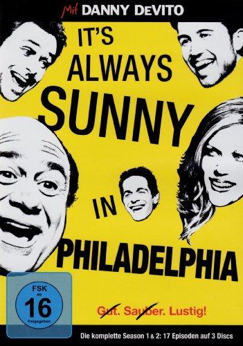It's Always Sunny in Philadelphia Season 1+2 (3 DVDs)