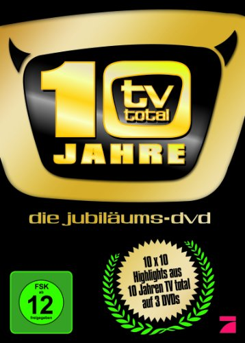 TV Total  10 Jahre/Die Jubiläums-DVD (3 DVDs)