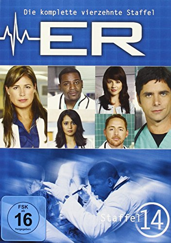 E.R. - Emergency Room Staffel 14 (3 DVDs)