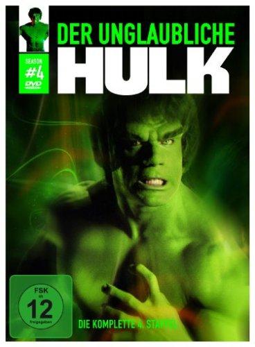 Der unglaubliche Hulk Staffel 4 (5 DVDs)
