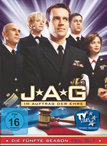 JAG Im Auftrag der Ehre - Season  5.1 (3 DVDs)