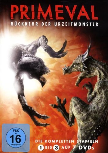 Primeval - Rückkehr der Urzeitmonster: Staffel 1-3 (7 DVDs)