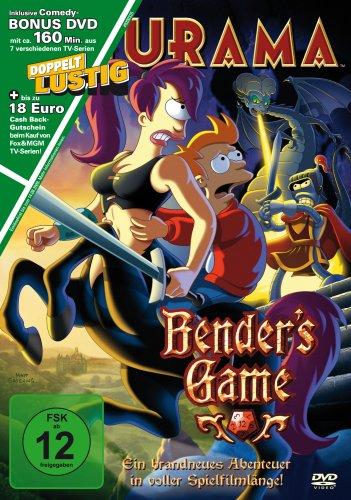 Futurama Bender's Game  (inkl. Comedy-Bonus DVD mit 4 verschiedenen TV-Episoden)