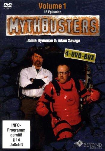 MythBusters - Die Wissensjäger, Vol. 1 (4 DVDs)