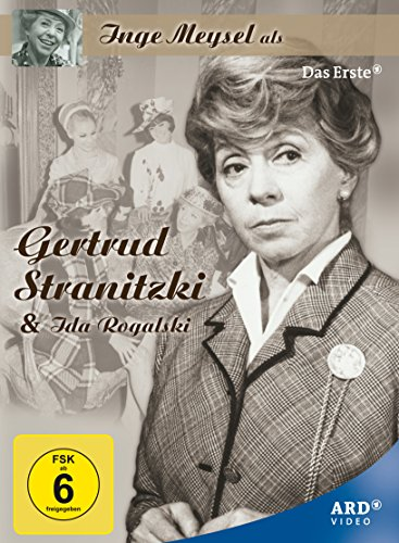 Inge Meysel als Gertrud Stranitzki & Ida Rogalski (+ Kinderheim Sasener Chaussee) (5 DVDs)