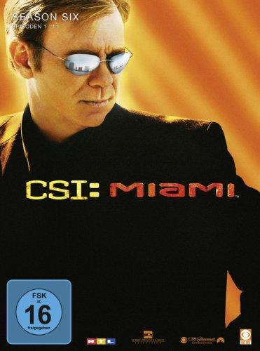 CSI: Miami Season  6.1 (3 DVDs)