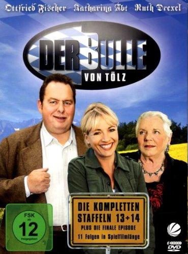 Der Bulle von Tölz Staffel 13+14 plus Finale (6 DVDs)
