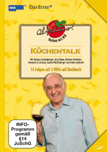 Alfredissimo! Kochen mit Bio: Küchentalk (14 Folgen auf 2 DVDs mit Kochbuch)