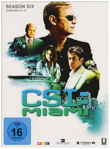 CSI: Miami Season  6.2 (3 DVDs)