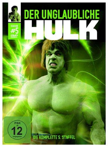 Der unglaubliche Hulk Staffel 5 (2 DVDs)
