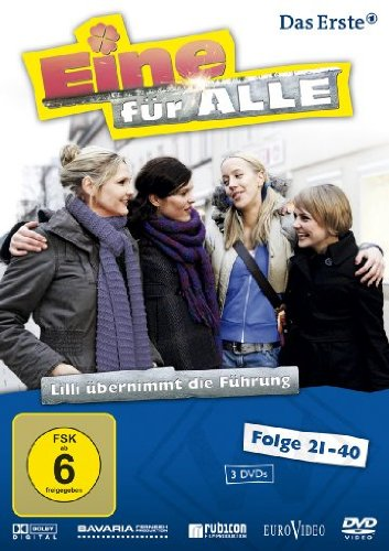Eine für alle - Lilli übernimmt die Führung, Folgen 21-40 (3 DVDs)