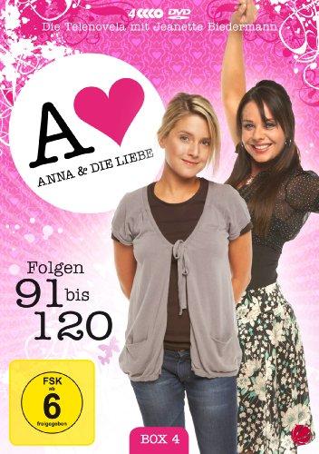 Anna und die Liebe Box  4, Folgen 91-120 (4 DVDs)