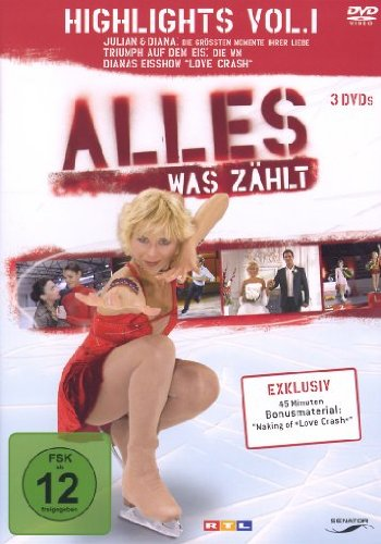 Alles was zählt Highlights Vol. 1 (3 DVDs + Audio-CD)