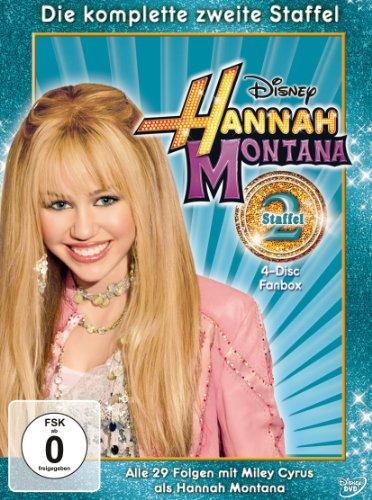 Hannah Montana Staffel 2 (4 DVDs)