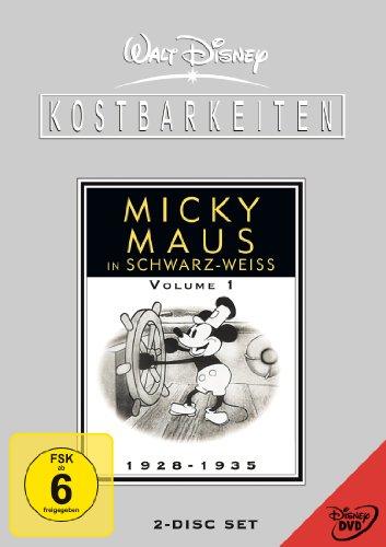 Walt Disney Kostbarkeiten - Micky Maus in schwarz-weiß - Volume 1 (2 DVDs)
