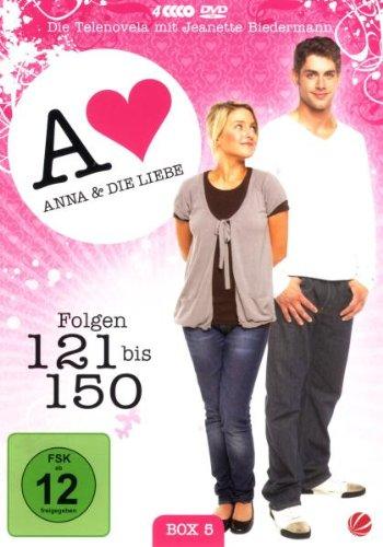 Anna und die Liebe Box  5, Folgen 121-150 (4 DVDs)