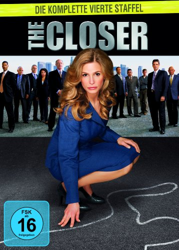 The Closer Staffel 4 (4 DVDs)