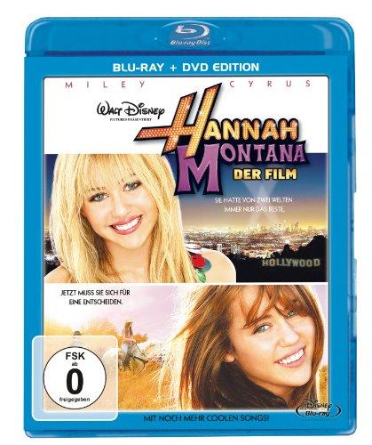 Hannah Montana Der Film  (+ DVD) [Blu-ray]