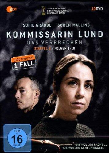 Kommissarin Lund - Das Verbrechen: Staffel 1 (10 DVDs)