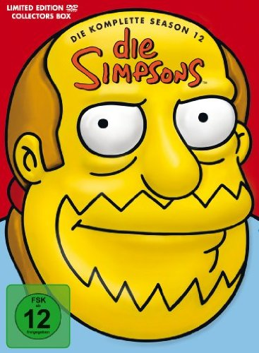 Die Simpsons Season 12 (Kopf-Tiefzieh-Box, Collector's Edition, 4 DVDs)