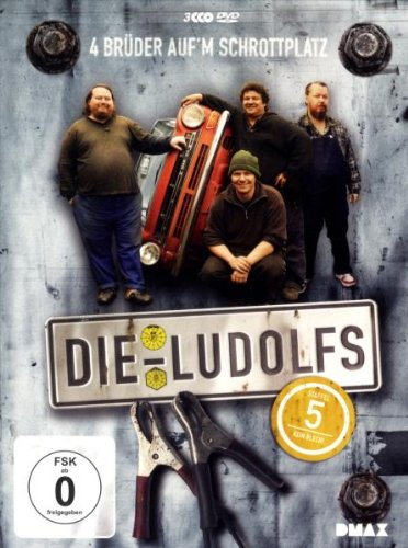 Die Ludolfs - 4 Brüder auf'm Schrottplatz, Staffel 5 (3 DVDs)