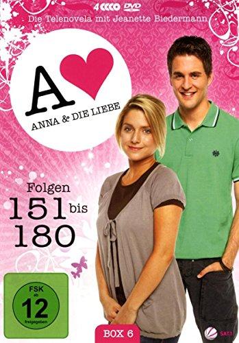Anna und die Liebe Box  6, Folgen 151-180 (4 DVDs)
