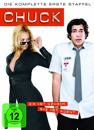 Chuck Staffel 1 (4 DVDs)