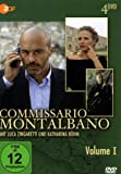Commissario Montalbano, Vol. 1 (4 DVDs)