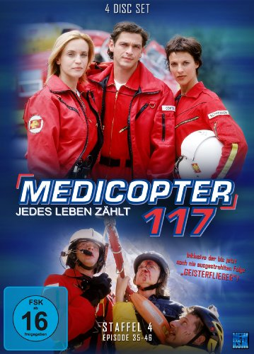 Medicopter 117 Staffel 4 (4 DVDs)